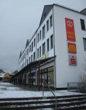 Corona-Test-Station am Melchendorfer Markt
